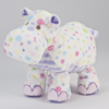 Pastel Dot Hippo Baby Fuzzle