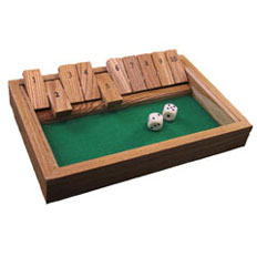 Square Root - Shut the Box #1 - 10 Game