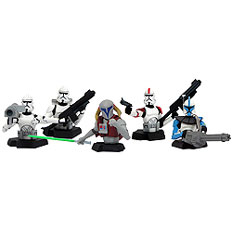 Star Wars Clone Wars Clone Trooper Bust-Up Box Set