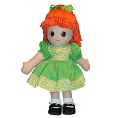 Adorable Kinders Rag Dolls Christy