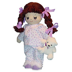 Adorable Kinders Rag Dolls Dulce