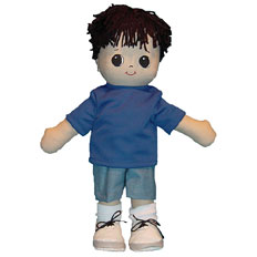 Adorable Kinders Rag Dolls Ivan