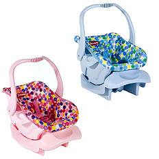 ToyDirectory® - Just-Like-Mine! Doll or Stuffed Toy Car Seat from JOOVY,