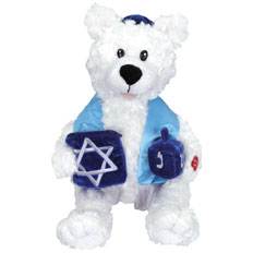 "16"" Daniel the Dreidel Bear"