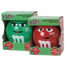 M&M's® Musical Ornaments