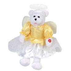 "Chantilly Lane® 19"" Noel angel bear"