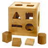 Maple Shape Sorter