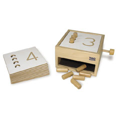 Tumble Down Counting Peg