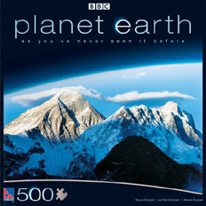 Planet Earth 500PC Jigsaw Puzzle