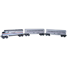 Amtrak Three Piece Set