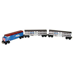Chicago's own Metra Passenger Train Set