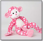 Fuzzles Ida Pink Dot Monkey by DOUGLAS CUDDLE TOYS