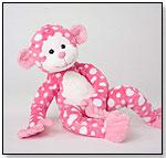 Fuzzles Ida Pink Dot Monkey by DOUGLAS CUDDLE TOYS