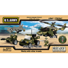 02060: 375 piece U.S. Army Building Set by BEST-LOCK CONSTRUCTION TOYS INC.