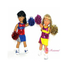 Got Spirit Cheerleader Outfit by DREAM BIG WHOLESALE DOLL CLOTHES LLC