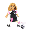 Go For The Goal! by DREAM BIG WHOLESALE DOLL CLOTHES LLC