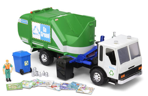 Tonka Go Green Garbage Truck (Co-Collecting Recycle Vehicle) by FUNRISE INC.