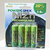PowerGenix NiZn AA Rechargeable Batteries – 8 Pack by PowerGenix