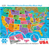 USA Map Puzzle by RE-MARKS INC.