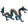 Krystal Blue Chinese Dragon