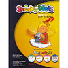 Frosted Ruff N' Ready Shrinkable Plastic Pack by SHRINKY DINKS ®  (K & B INNOVATIONS, INC.)