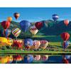 Balloon Bonanza - 1000 piece jigsaw puzzle by SPRINGBOK PUZZLES