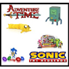 Adventure Time and Sonic the Hedgehog by ZOOFY INTERNATIONAL LLC