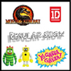 Mortal Kombat, Regular Show, 1D and Yo Gabba Gabba by ZOOFY INTERNATIONAL LLC