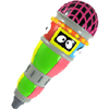 Yo Gabba Gabba Microphone by ZOOFY INTERNATIONAL LLC