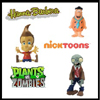 NickToons, Hanna-Barbera and Plants vs. Zombies by ZOOFY INTERNATIONAL LLC