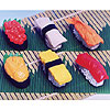 Iwako Sushi Erasers by BC INDUSTRIES