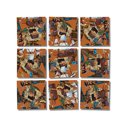 ToyDirectory® - Candy Scramble Squares® 9 Piece Puzzle from