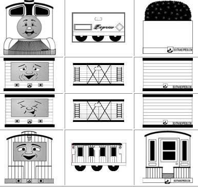 Boxcar Coloring Page