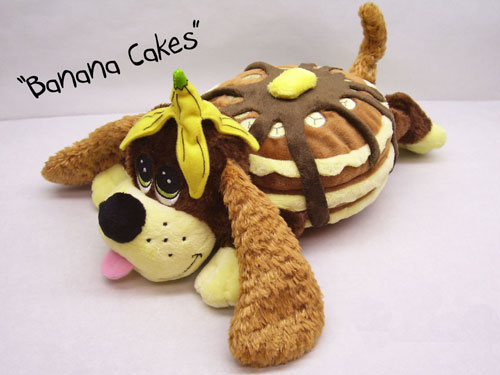 Pancake Puppies - Banana Cakes by THE CUDDLECAKES GROUP LLC