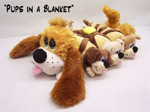 Pancake Puppies - Pups in a Blanket by THE CUDDLECAKES GROUP LLC