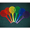 Rainbow Tennis Rackets by EVERRICH INDUSTRIES, INC