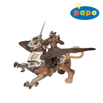 Papo – Bird Man & War Griffin by HOTALING IMPORTS