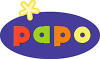 Petit Ours Brun (Papo) 19xx Logo