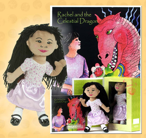 Rachel Doll and Book Set by JAMBOKIDS COMPANY INC