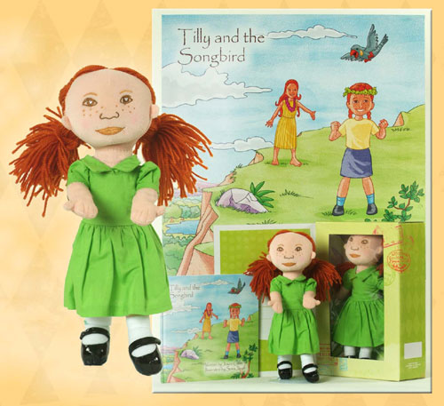 Tilly Doll and Book Set by JAMBOKIDS COMPANY INC