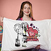 Hannah Montana Pillowcase Art by JANLYNN CORP.
