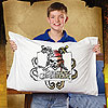 Disney Pirates of the Carribean Skull & Tentacles Pillowcase Art by JANLYNN CORP.