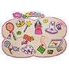 Girl Bag-Shaped Wooden-Peg Puzzle by LEE BROTHERS TOYS