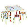 CoCaLo Baby Alphabet Soup Table and 4 Stool Set by LEVELS OF DISCOVERY
