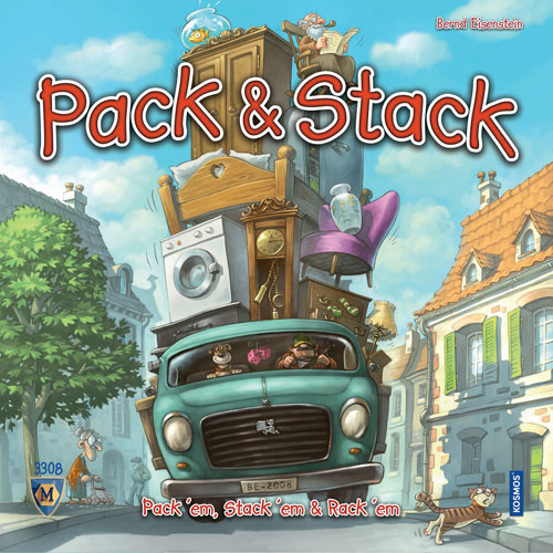 Pack & Stack™ by MAYFAIR GAMES INC.