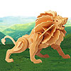Little Lion Wooden Puzzle by PUZZLED, INC.
