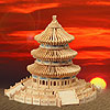 Temple of Heaven Wooden Puzzle by PUZZLED, INC.