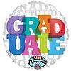 """Graduate, Jumbo Sing-A-Tune® balloon, 28"""" by RAINBOW BALLOONS"""