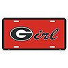 Georgia G License Plate by SMART BLONDE