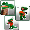 TeamHeads® - Florida Gator Mascot Hat and Plush by TEAMHEADS